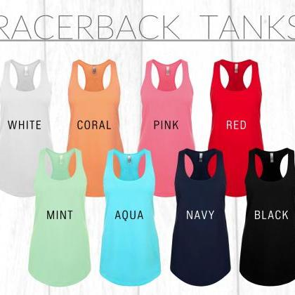 Personalized Mrs Tank Top, Racerbac..