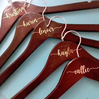 Personalized Hangers | Set of 5 | D..