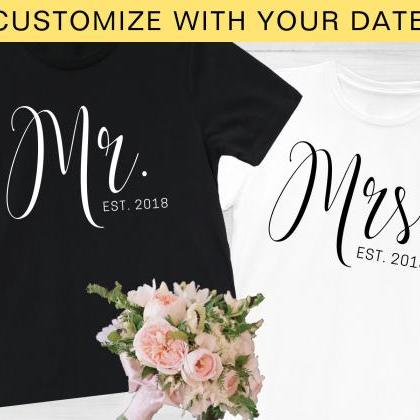 Personalized Mr Shirt, Custom Date,..
