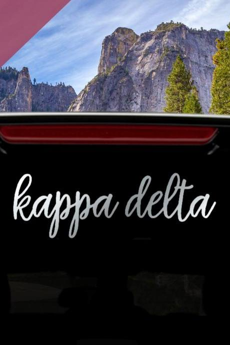 Greek Letter Vinyl Decal | Many Sizes | Fraternity Decal | Sorority Decal | Car Decal | Laptop Decal | Outdoor Vinyl | Foil Glitter Options.